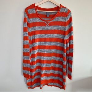 New Directions weekend long sleeve sweater